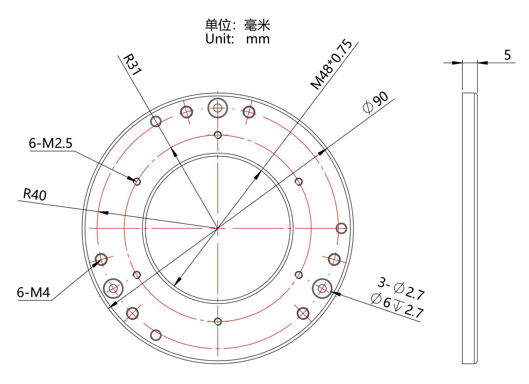 结构尺寸图