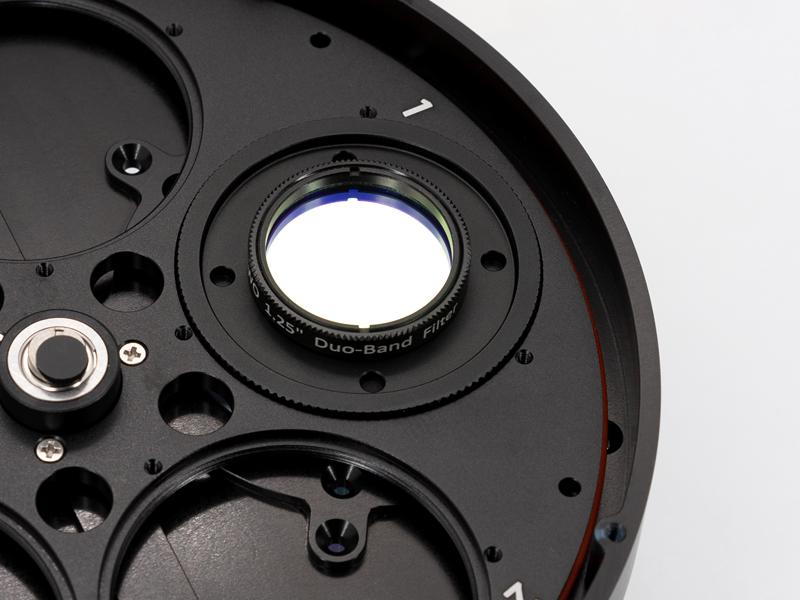 连接2寸滤镜轮()有滤镜