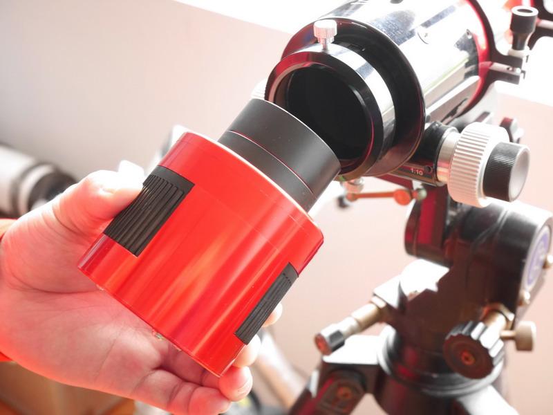 5mm extender+telescope