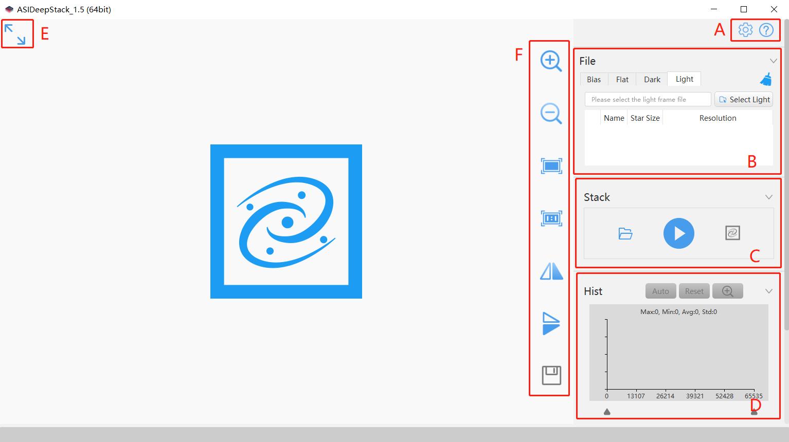 ASIDeepStack interface1
