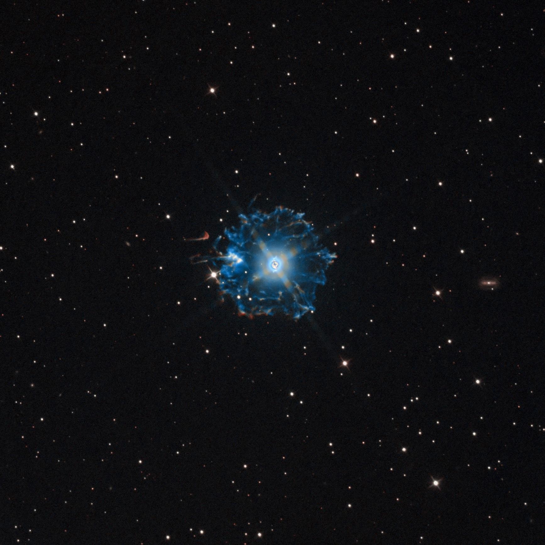 Cat's Eye Nebula-Jonathan Piques-ASI2600MM