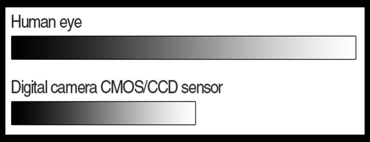 Human-Eye-Versus-Sensor