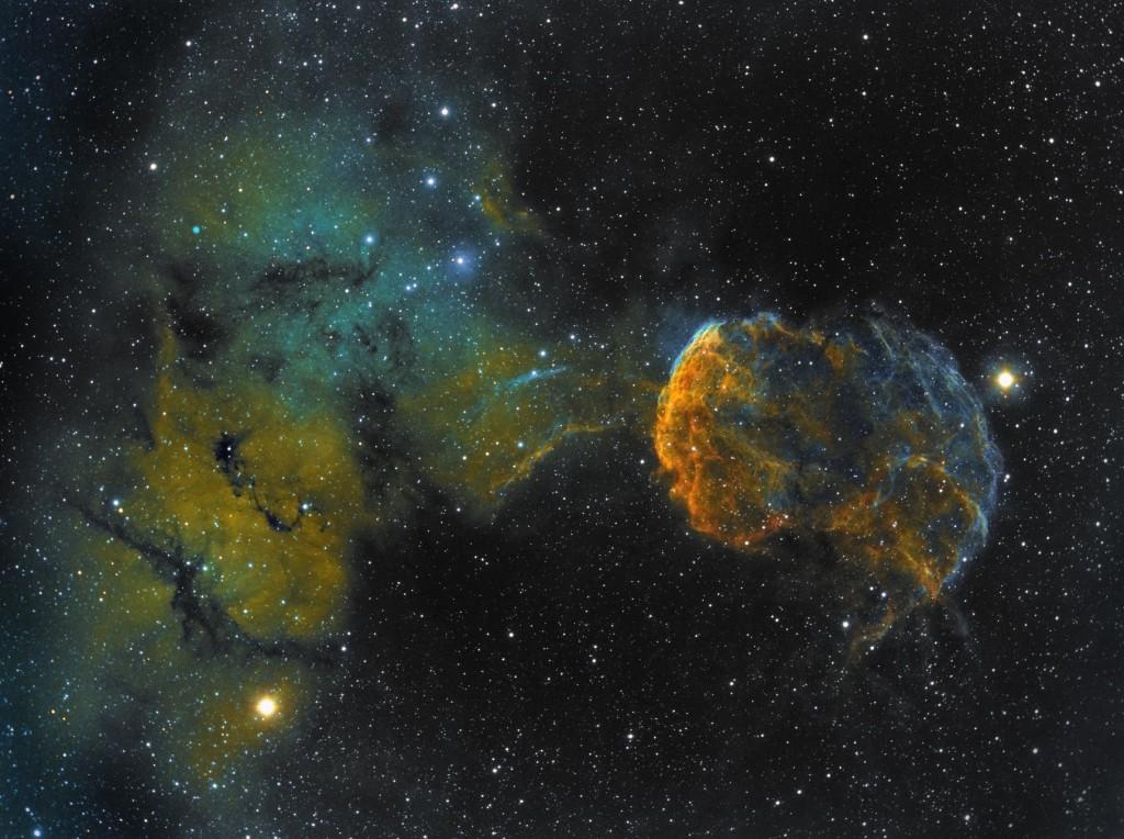 Jellyfish Nebula-ZWO-ASI1600MM Pro