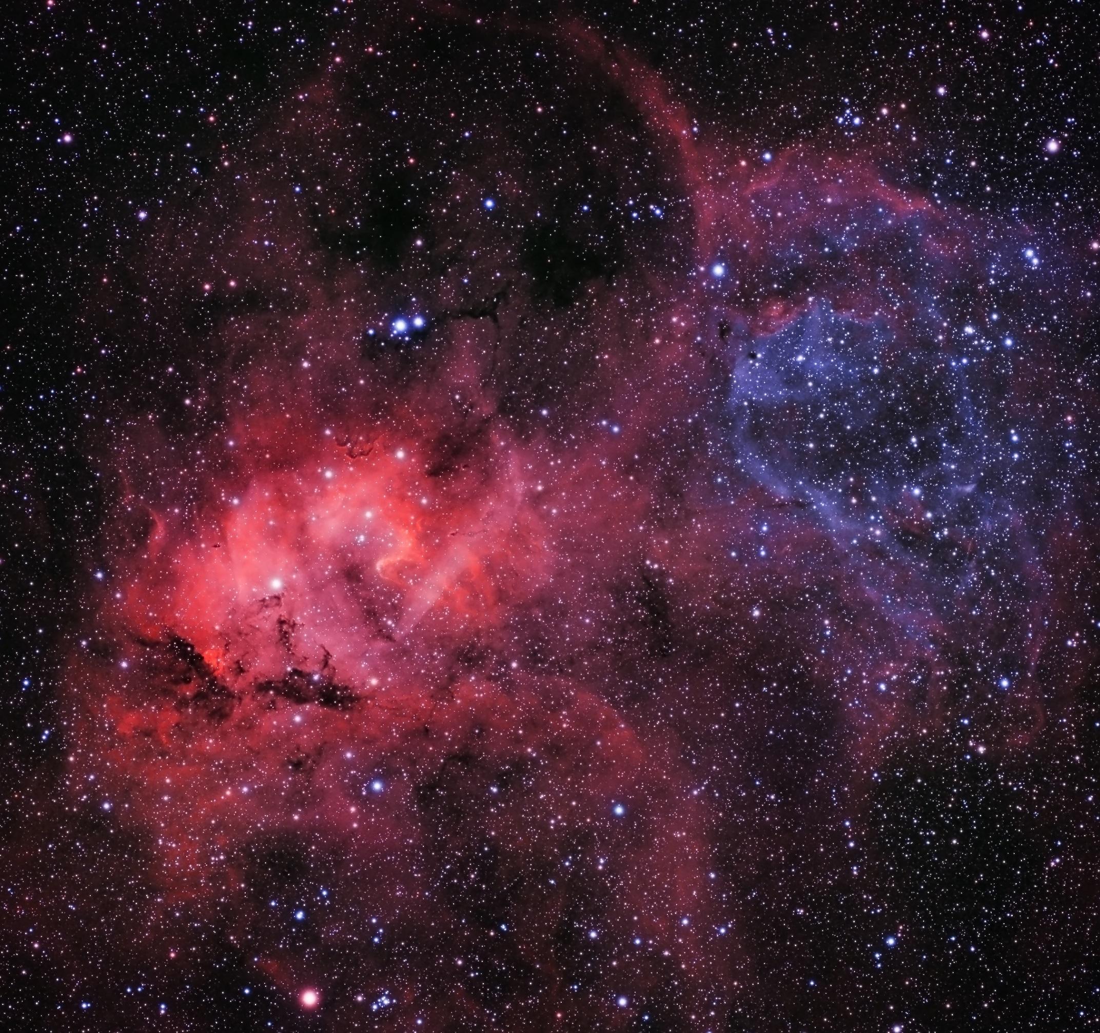 Lion Nebula-Jonathan Piques-ASI1600MM