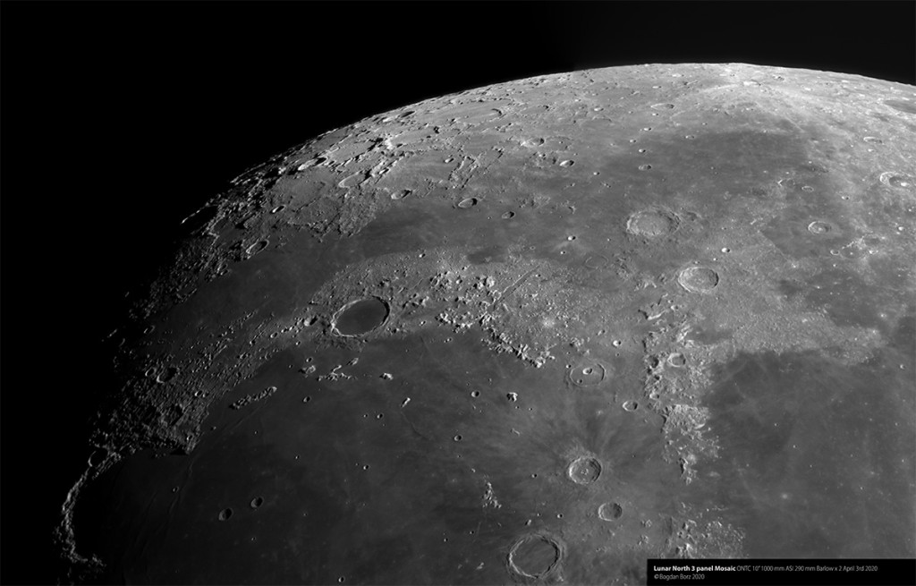 Lunar North Mosaic