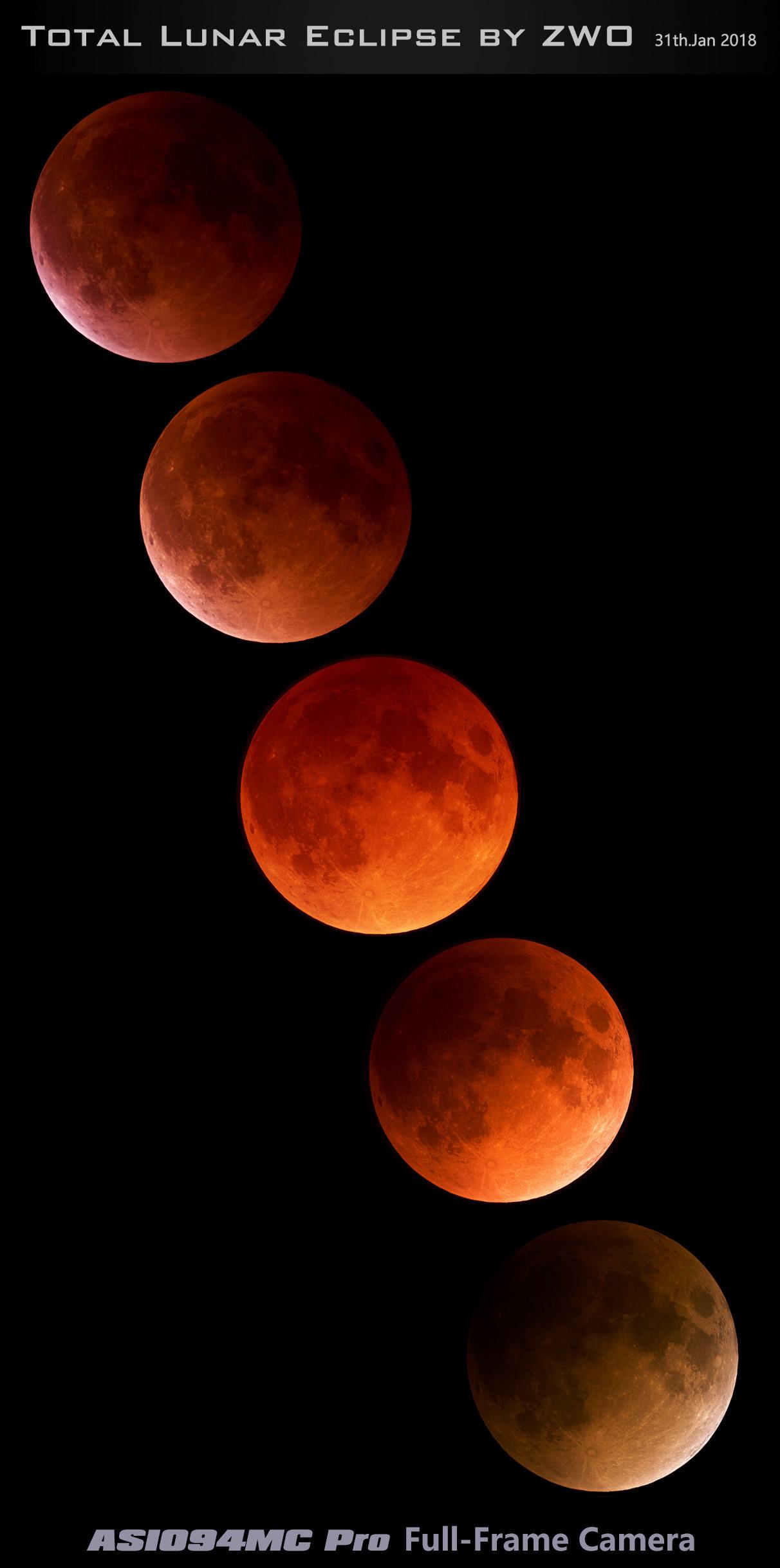 Lunar eclipse2018