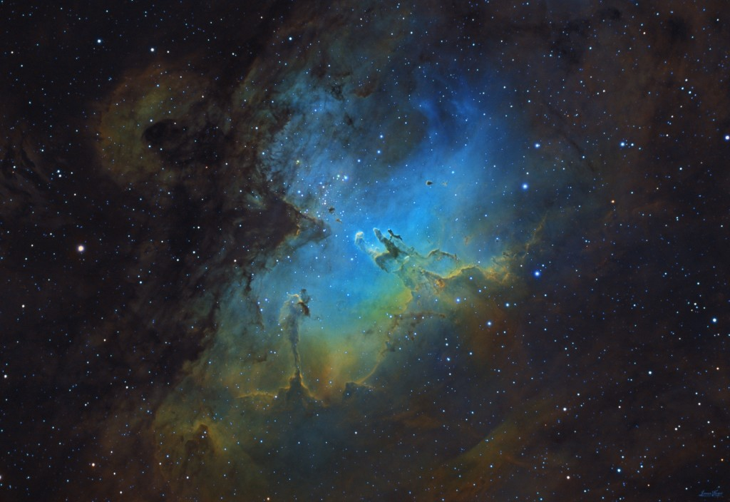 M16, The Eagle Nebula
