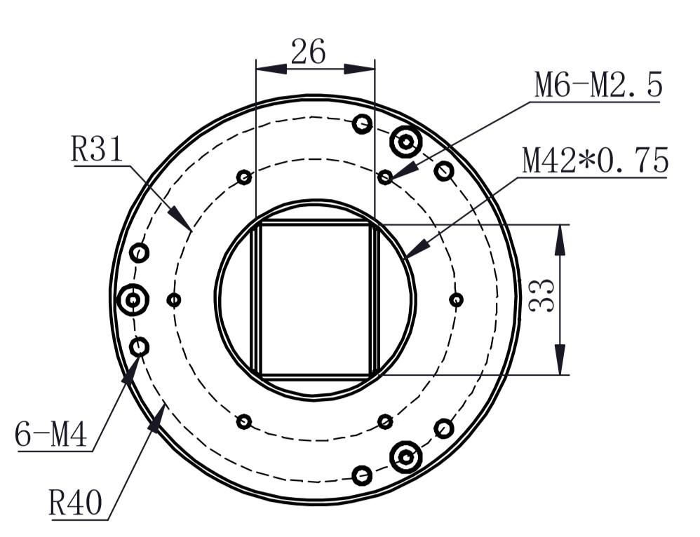 M42 Sensor tilt adapter-1
