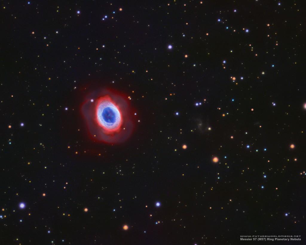 M57 • Ring Nebula in HaOIIILRGB