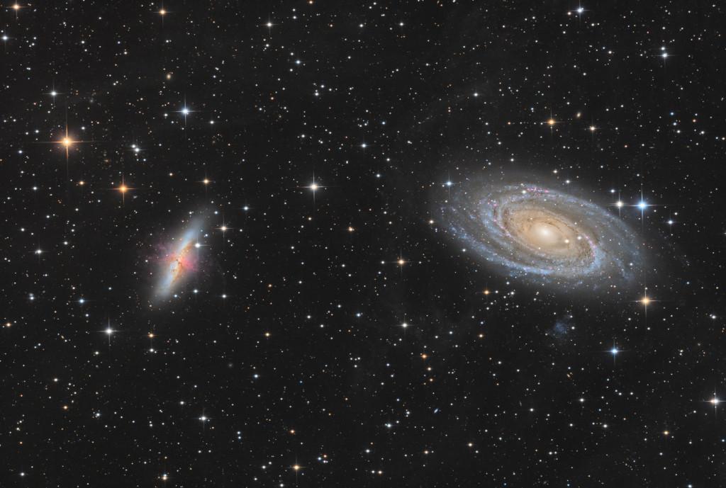 M81 82 HALRGB 200-800 Vach妑es, France