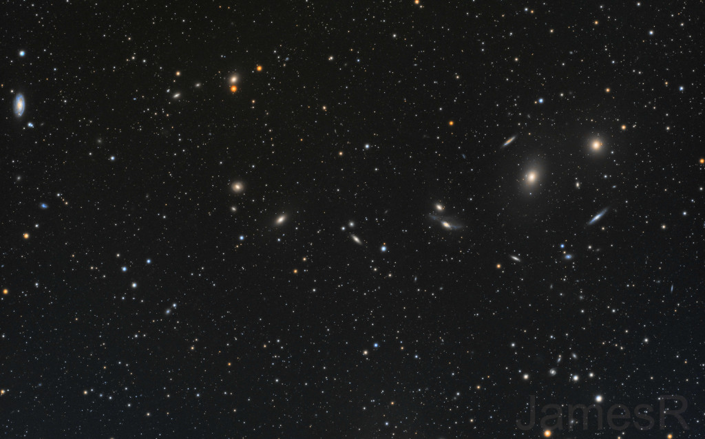 Markarian's chain and friends