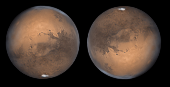 Mars 2020 opposition Newton Ares 405mm, Skywatcher EQ8, Baader RGB filters, Barlow Orion 5x, Asi174mm