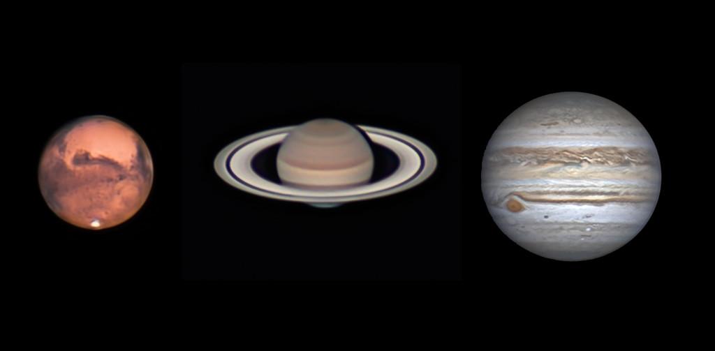 Mars Saturn Jupiter