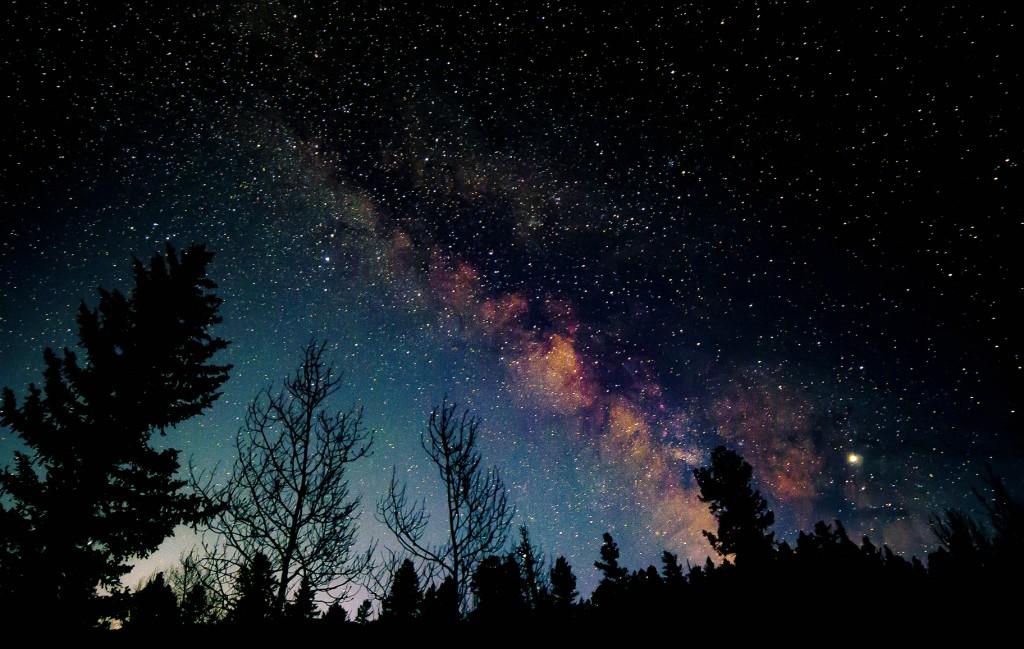 Milky Way over Buena Vista, CO