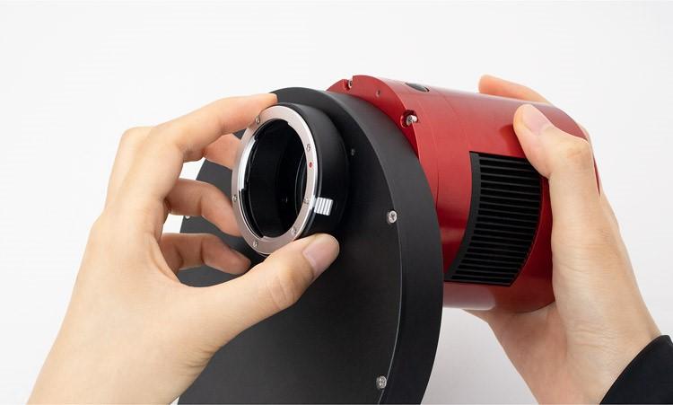 "Nikon lens adapter for 2""Filter Wheel-10"