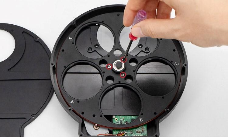 "Nikon lens adapter for 2""Filter Wheel-7"