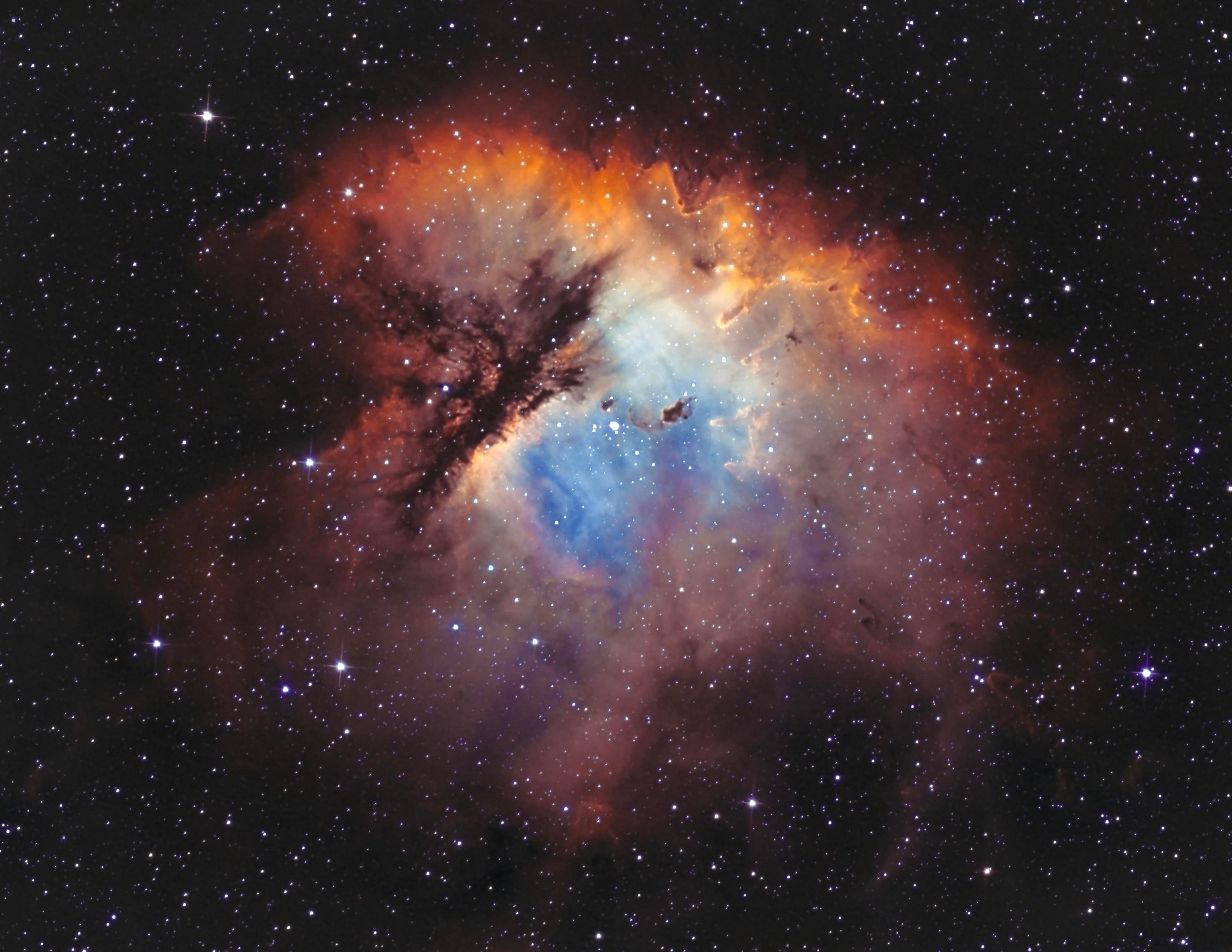 Pacman Nebula (NGC 281)-Jonathan Piques-ASI1600MM