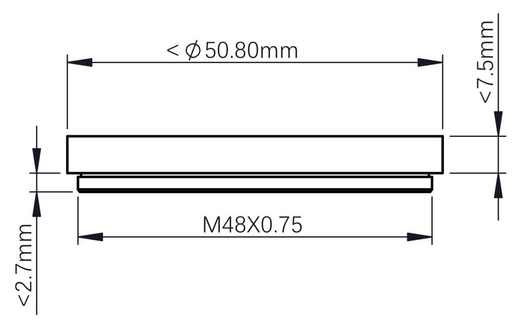 Requisiti per il filtro da 2 pollici di terze parti