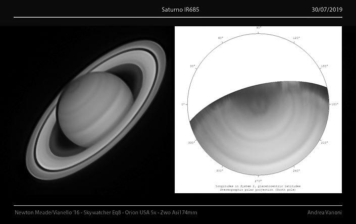 Saturn 2019 exagon, Newton Ares 405mm, Skywatcher EQ8, Barlow Orion 5x, Asi174mm, Irpass 685nm