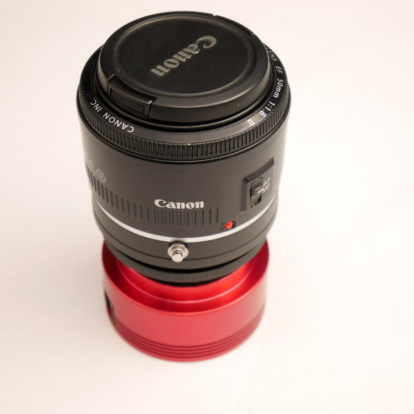 T2-EOS with cannon lens
