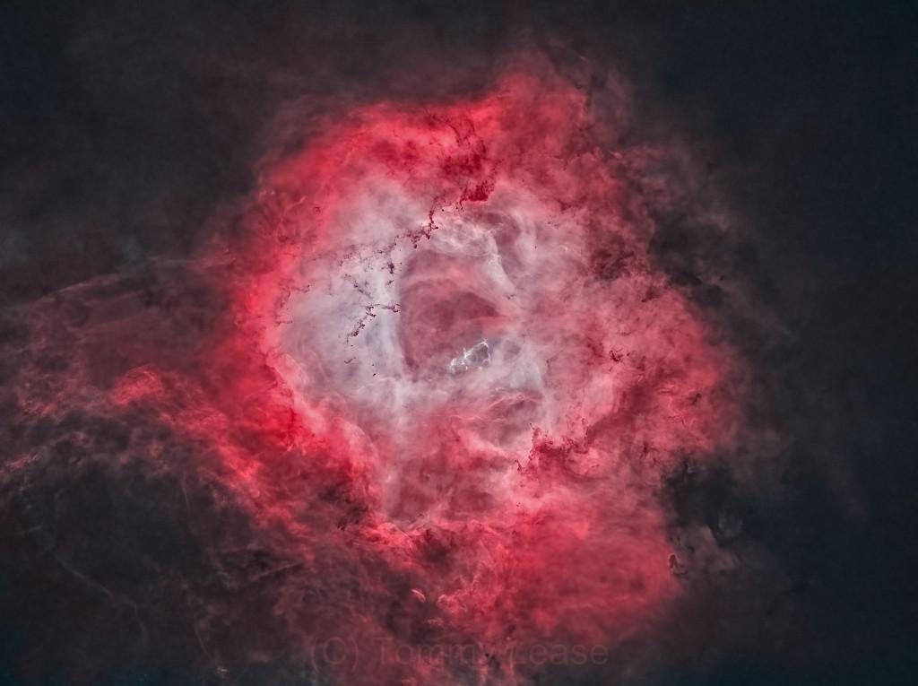 The Rosette Nebula in HOO (Starless version)