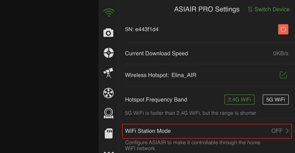 WiFi Station Mode-ASIAIR PRO-1