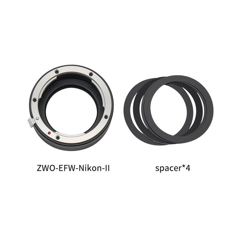 ZWO New EFW-Nikon-Ⅱ Adapter-Package List