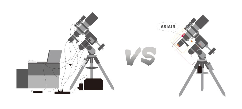 asiair vs other device