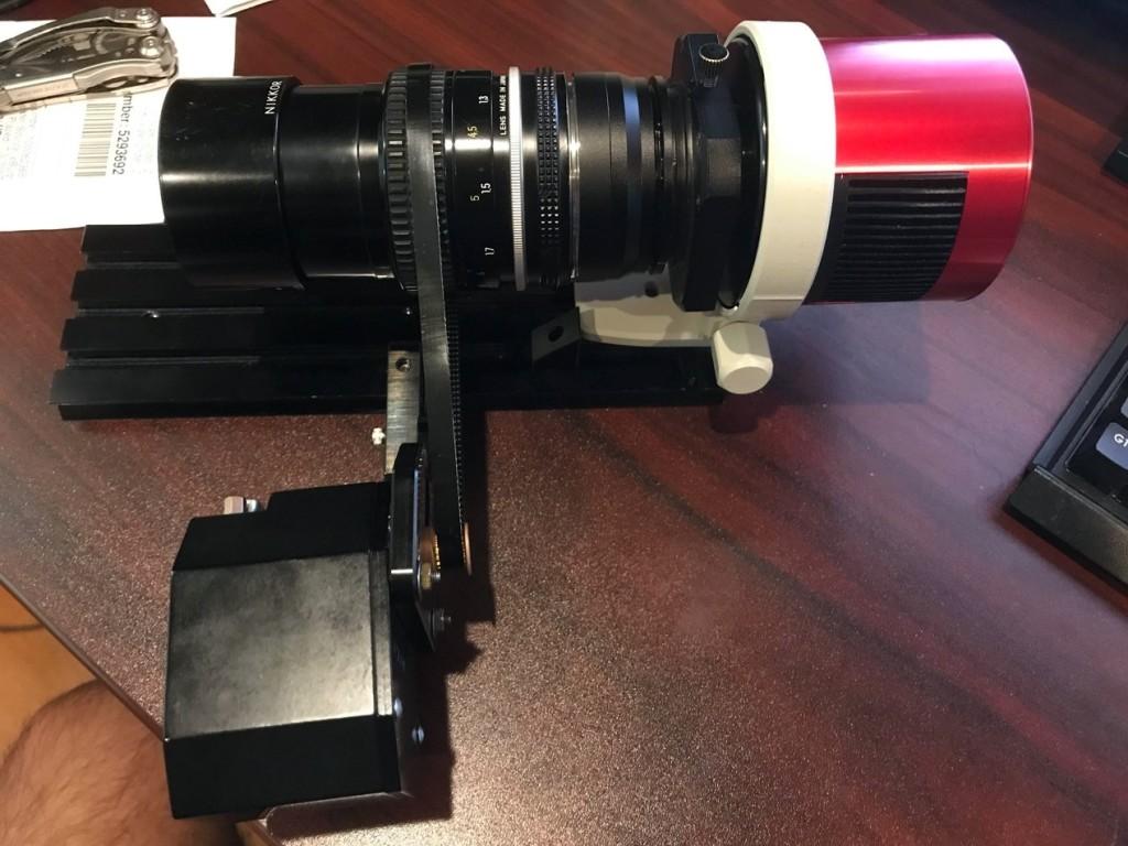 setup with ASI camera